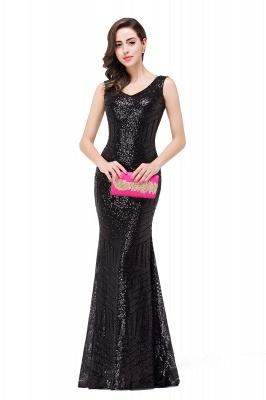 Cheap Elegant Mermaid Prom Dress Beaded Backless Evening Dress in Stock_7