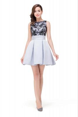 FELICITY | A-Line Crew Sleeveless Short Appliques Prom Dresses_4