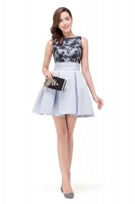 FELICITY | A-Line Crew Sleeveless Short Appliques Prom Dresses_5