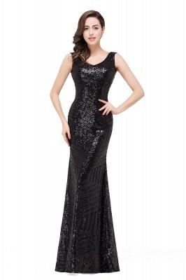 Cheap Elegant Mermaid Prom Dress Beaded Backless Evening Dress in Stock_4