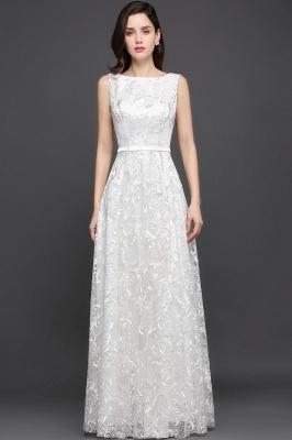 AVIANA | A-line Scoop Lace Elegant Evening Dress_2
