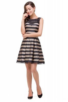 A-line Scoop Sleeveless Short Tulle Prom Dresses_6