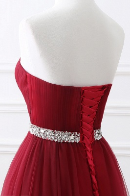 Cheap modest sweetheart sleeveless beading a-line prom dress in Stock_14