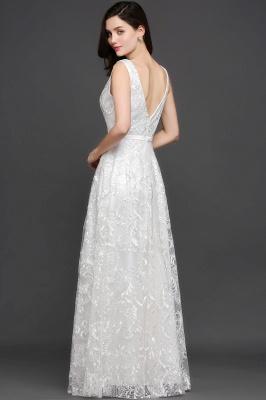 AVIANA | A-line Scoop Lace Elegant Evening Dress_9