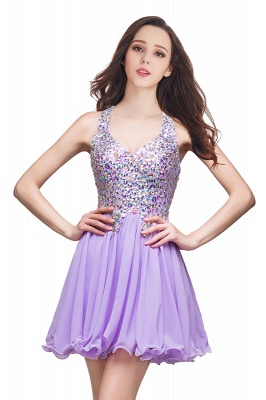ELIANNA | A-line Short Sleeveless Sweetheart Chiffon Prom Dresses with Crystal Beads_4
