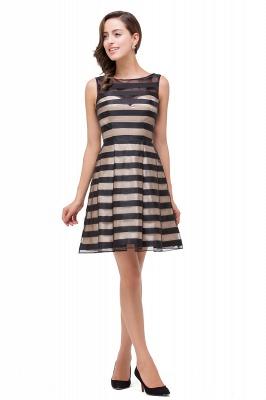 A-line Scoop Sleeveless Short Tulle Prom Dresses_4
