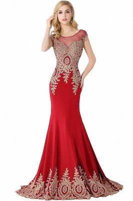 ABIGAIL   Mermaid Court Train Chiffon Evening Dress with Appliques_1