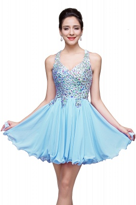 ELIANNA | A-line Short Sleeveless Sweetheart Chiffon Prom Dresses with Crystal Beads_5