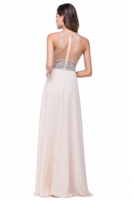 ADALYN | A-line Jewel Chiffon Prom Dress with Beading,Crystal_8