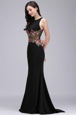 ELAINE | Mermaid Floor-length Sleeveless Prom Dresses with Embroidery-flowers_1