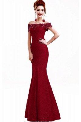 EMMALYNN | Mermaid Off Shoulder  Floor-Length Lace Bridesmaid Dresses_7