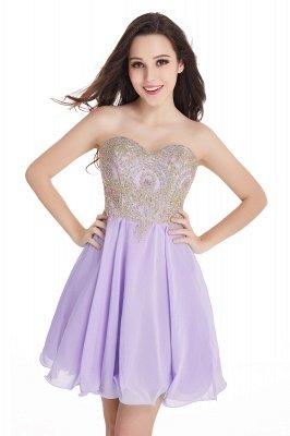 Sweetheart Mini Cheap Appliques Short 2019 Homecoming Dresses_4