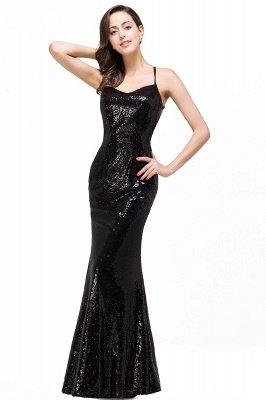 Mermaid Sleeveless Sweetheart Floor-length Prom Dress with Sequins_1