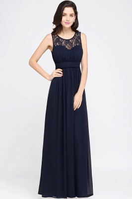 CHELSEA | Cheap Long Lace Prom Dress | Afforable Chiffon Lace Evening Dress_13