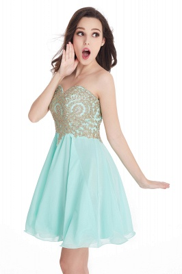 Sweetheart Mini Cheap Appliques Short 2019 Homecoming Dresses_10