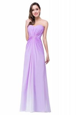 ADRIENNE | A-line Strapless Chiffon Bridesmaid Dress_2