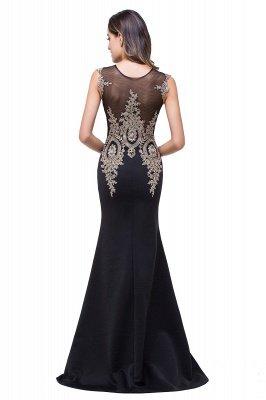 ADDISYN | Mermaid Floor-length Chiffon Evening Dress with Appliques_10