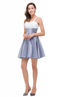 A-line Sleeveless Sweetheart Short Chiffon Prom Dresses_9