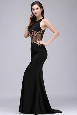 ELAINE | Mermaid Floor-length Sleeveless Prom Dresses with Embroidery-flowers_2
