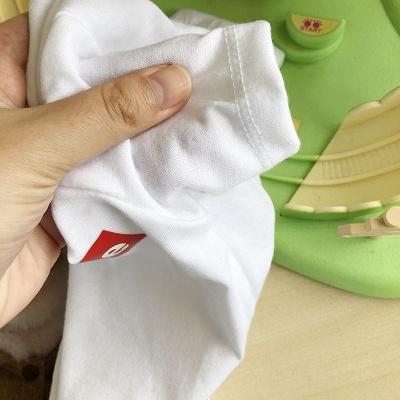 White And Black Short Sleeve Dog T-shirt | Pet Cloth Foe Small Pet_5
