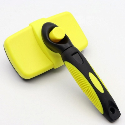 Pet Soft Silicone Dog Grooming Cat Cleaning Pet Comb