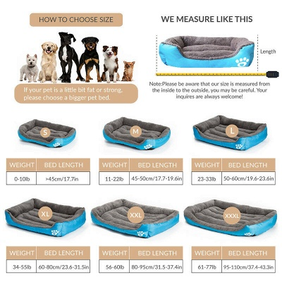 Pet Dog Bed Orthopedic Large Dog Beds_7