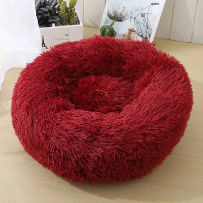 Ultra Soft Washable Dog and Cat Cushion Bed | Comfortable Round  Cuddler Dog Bed_15