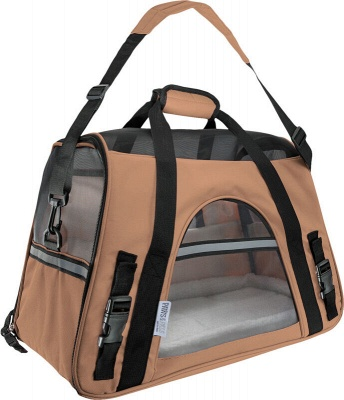 Pet Carrier Soft Sided Puppy Kitten Cat Dog Tote Bag Travel Airline Approved_2