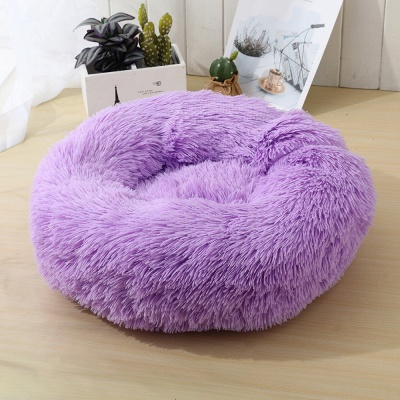 Ultra Soft Washable Dog and Cat Cushion Bed | Comfortable Round  Cuddler Dog Bed_51