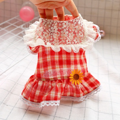 Puppy Clothes Cute Summer Pet Dress_4