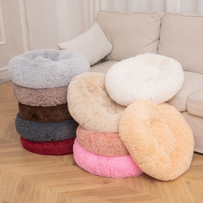 Ultra Soft Washable Dog and Cat Cushion Bed | Comfortable Round  Cuddler Dog Bed_69