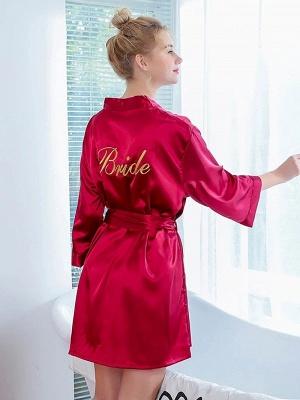 Women's Fashion Bathrobe Belt Nightgown_2