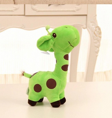 Animal Dear doll Baby Kid Child Christmas Birthday Happy Colorful Gifts 18cm Unisex Cute Gift Plush Giraffe Soft Toy_8
