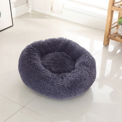 Ultra Soft Washable Dog and Cat Cushion Bed | Comfortable Round  Cuddler Dog Bed_48