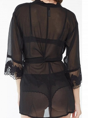 Sexy Lace Nightgown Sheer Nighty_2