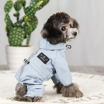 Cute Pink Summer Outdoor Puppy Pet Ruffwear Accessories Dog Rain Coat_2