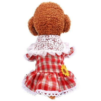 Puppy Clothes Cute Summer Pet Dress_2