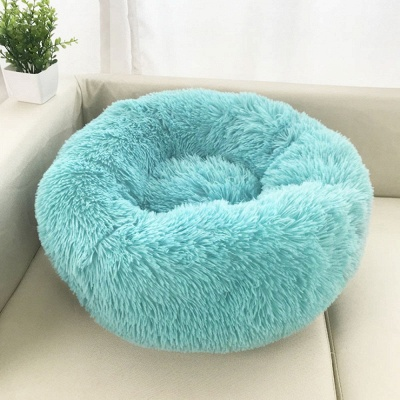 Ultra Soft Washable Dog and Cat Cushion Bed | Comfortable Round  Cuddler Dog Bed_7