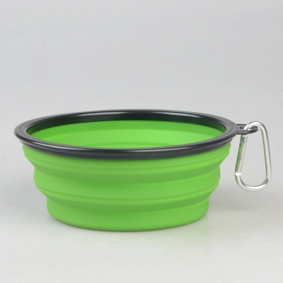 Travel Dog Foldable Drinking Bowl | Portable Pet Collapsible Bowl_16