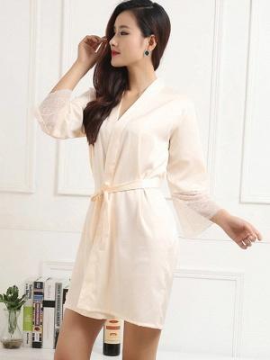 Women Fashion Bath Robe Dressing Gown