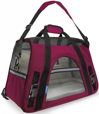 Pet Carrier Soft Sided Puppy Kitten Cat Dog Tote Bag Travel Airline Approved_9