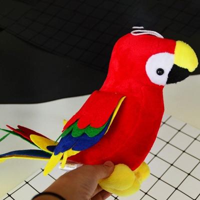 Plush  Cute Flamingo  Puzzle Bite-resistant Vocal Dog Toy Teeth Toys_4