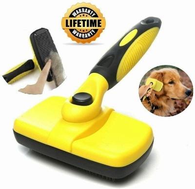 Self Cleaning Dog Cat Slicker Brush Grooming Brush Comb Shedding Tool Hair Fur_3
