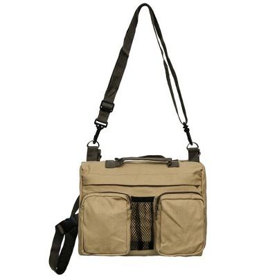 Dog Backpack Hiking Harness Canvas Saddle Bag Adjustable Straps_3