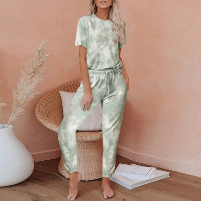 Stylish Tie-dyed Loungewear Track Suit for Sports_4