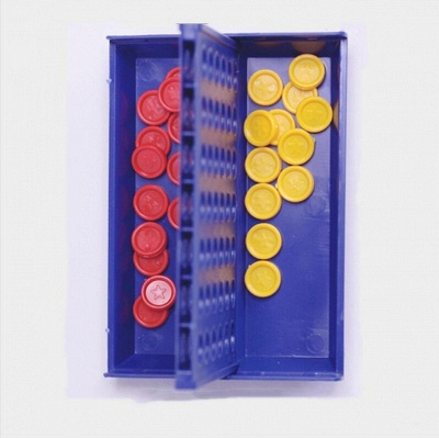 Children Educational Toys for Kid Sports Entertainment 1 Set Connect 4 Board Game_3