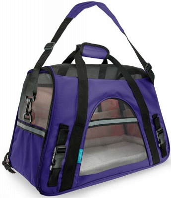 Pet Carrier Soft Sided Puppy Kitten Cat Dog Tote Bag Travel Airline Approved_4