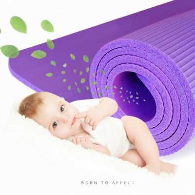 Eco Friendly Non Slip Fitness Exercise Yoga Mat | Pilates Floor Exercises_3