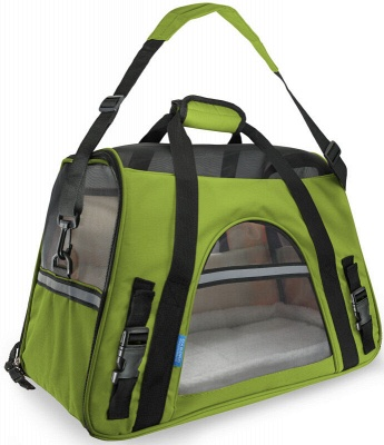 Pet Carrier Soft Sided Puppy Kitten Cat Dog Tote Bag Travel Airline Approved_8