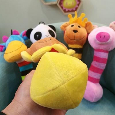 Panda Cartoon Plush Vocal Dog Toys_5